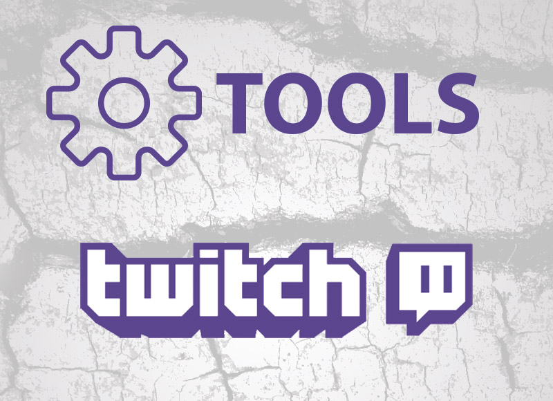 The best Twitch Tools : schedule, donation, program, tracker, emotes